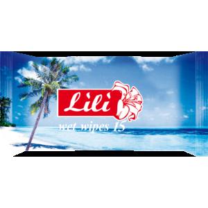Влажные салфетки Lili с ароматом морской свежести