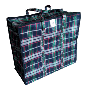 Сумка хозяйственная из ткани №1 40х35х19