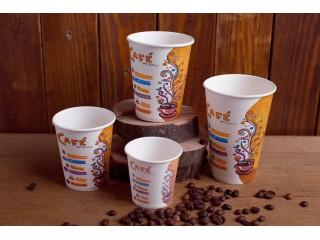 """Бумажный стакан """"Кафе Меню"""""""