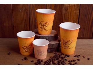 """Бумажный стакан """"Кофе Тайм"""""""
