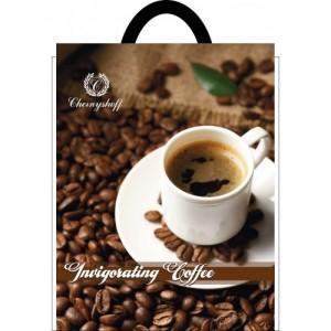 Пакет петля 25*30 Кофе