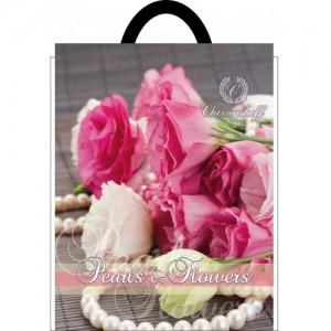 Пакет петля 25*30 Роза