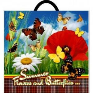 Пакет петля 38*34 Бабочки