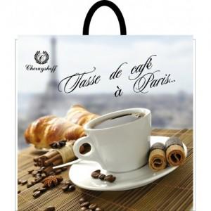 Пакет петля 40*38 Кофе