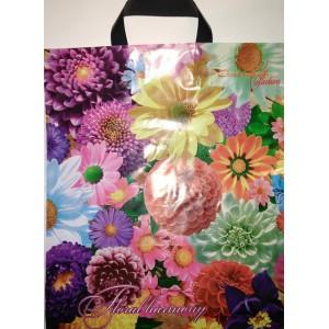 Пакет петля 38*43 Цветочная гармония