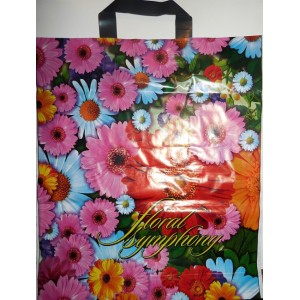 Пакет петля 38*43 Цветочная симфония