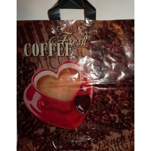 Пакет петля 38*43 Свежий кофе