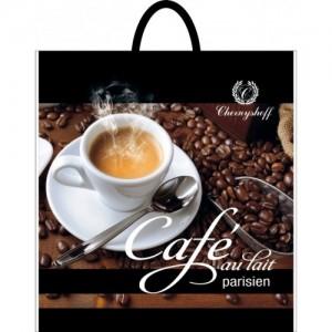 Пакет петля 40*42 Кофе