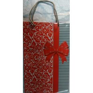 Подарочный пакет 16,5*26,5*7 Бант