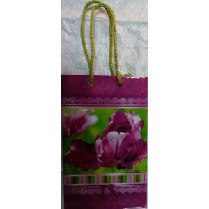 Подарочный пакет 11,5*17,5*5 Орхидея