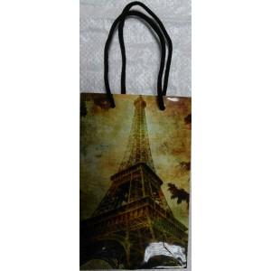 Подарочный пакет 11,5*17,5*5 Париж