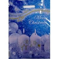 Пакет с прорезной ручкой 290*370 С Рождеством!!