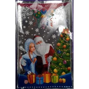 Новогодняя упаковка для конфет Дед Мороз