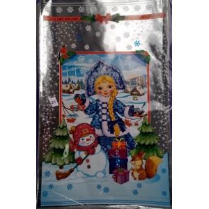 Новогодняя упаковка для конфет Снегурочка