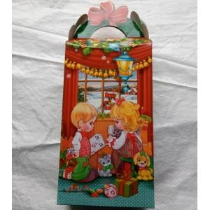 Новогодняя упаковка для подарков Дети