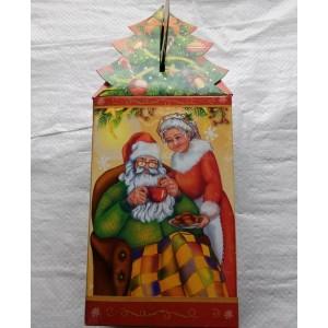 Новогодняя упаковка для подарков Дед Мороз