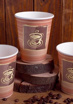 """Бумажный стакан """"Шоколад"""""""